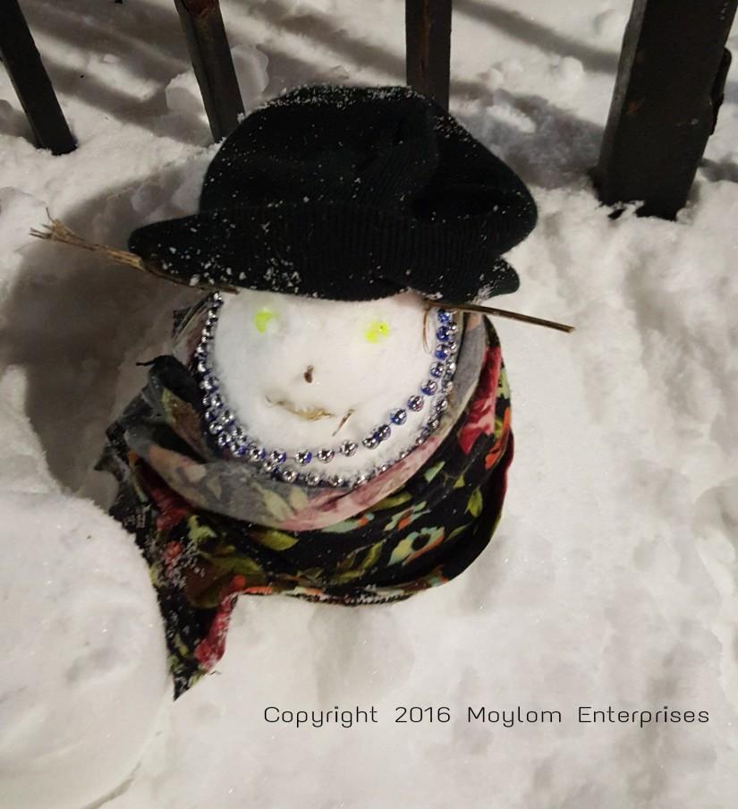 munchkin snowman