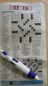 Crossword Puzzle by Jacqueline E. Matthews (amNewYork Aug 12 2015) Image source: Moylom Enterprises photo of amNewYork page 22 8.12.2015)